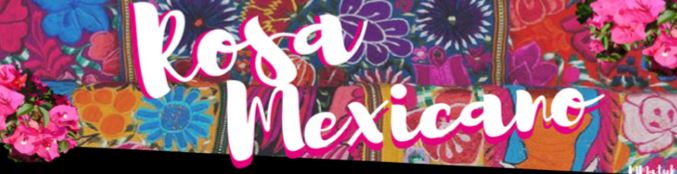 "CULTURA VIVA   ""SO ITIS A MEXICAN PINK"""