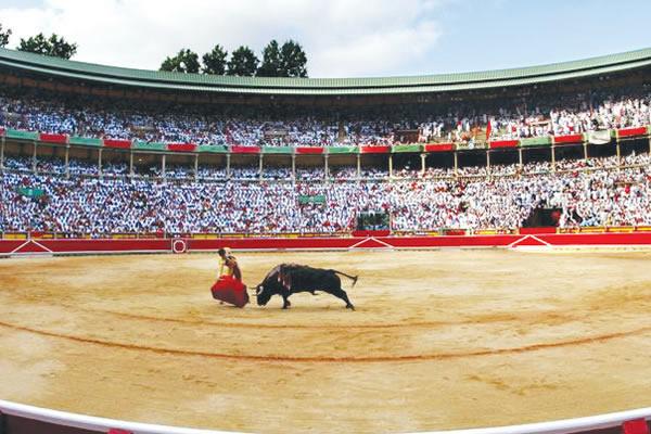 ¡Pamplona, suena a México..!