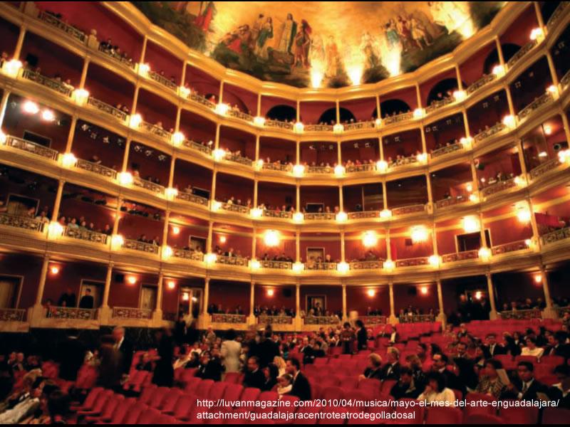 Teatro Degollado… ¡Magia en el arte!