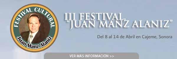 III Festival Cultural «Juan Manz Alaníz»