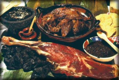 Barbacoa, manjar mexicano