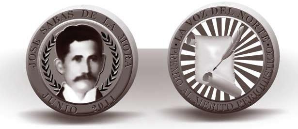 La medalla al mérito periodístico: José Sabas de la Mora