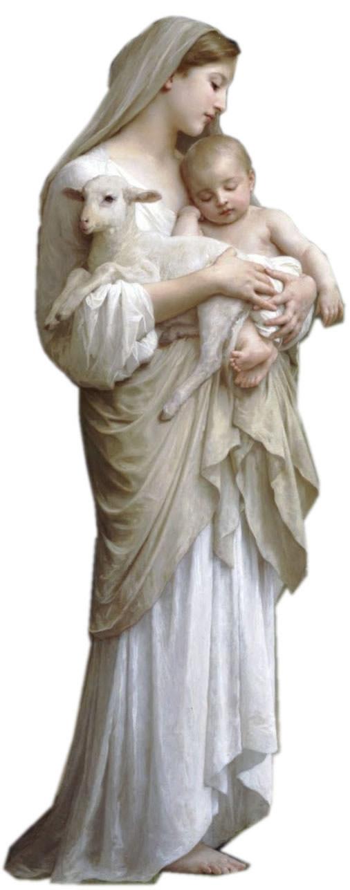 Era llena de gracia… ¡Como el Ave María!