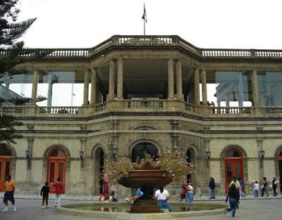 Vivir en el Castillo de Chapultepec