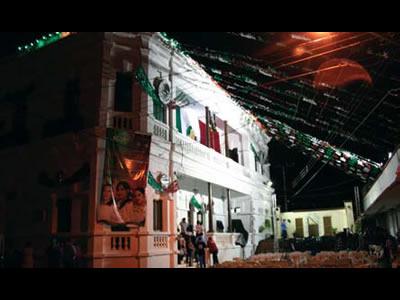 Las fiestas patrias de 1904 en Mocorito