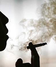 Grito en el humo