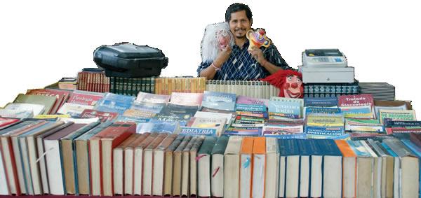 Los libros son mi tesoro, Gildardo Velázquez Arellano