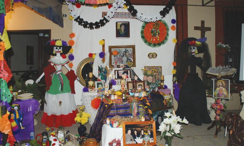 Concurso de Altares Día de Muertos Mocorito 2010