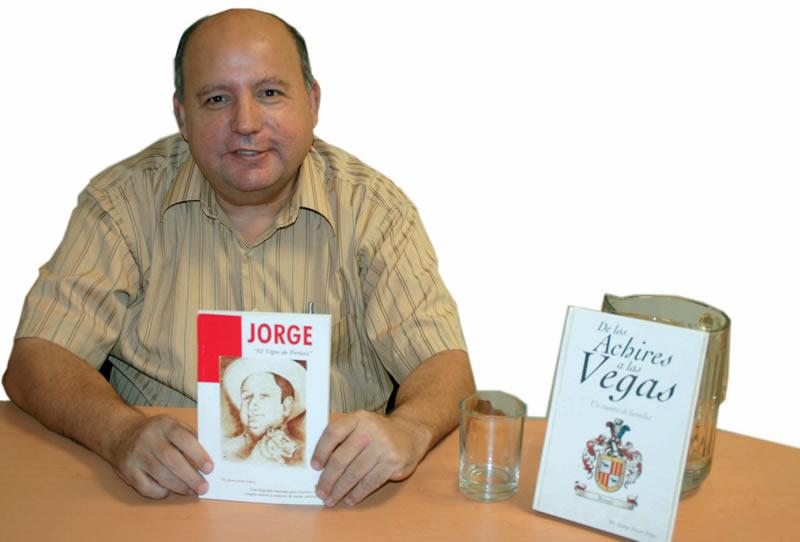 """Una biografía novelada: """"Jorge, el tigre de Pericos"""" Jaime Irizar López"""