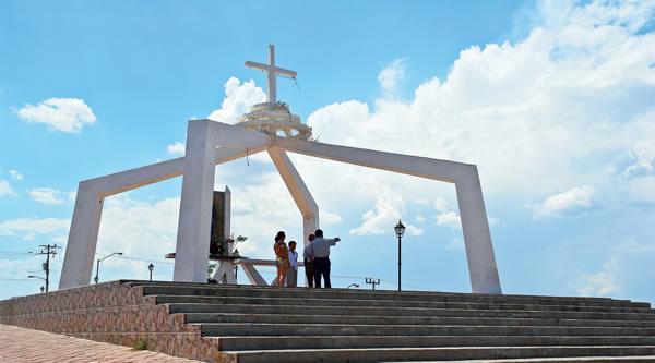 La ermita en el Cerro del Monge