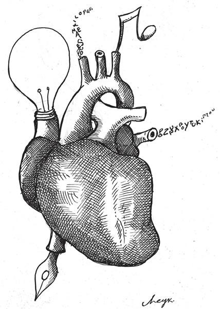 Corazón creativo
