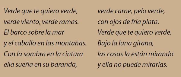 Lorca que te quiero Lorca