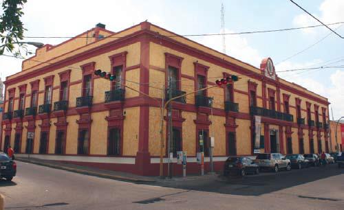 El edificio del Museo de Arte de Sinaloa