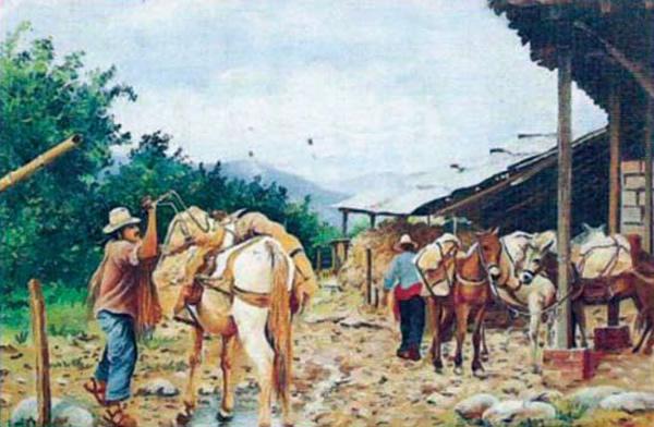 La arriería en Badiraguato