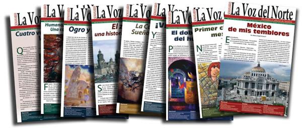 Cien ediciones de La Voz del Norte