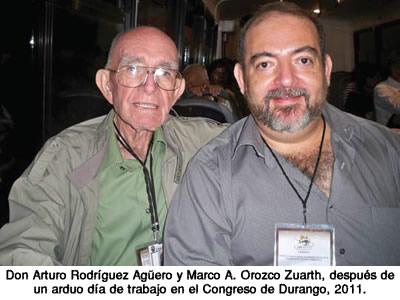 Fallece el cronista de Cananea José Arturo Rodríguez Agüero (q.e.p.d.)