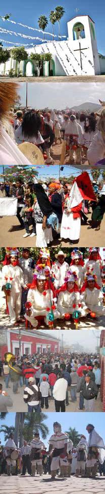 Las Fiestas de Nuestra Señora del Carmen, en San Ignacio Sinaloa