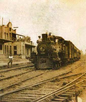 Construccion del Ferrocarril Panamericano