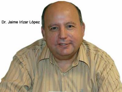 JAIME IRÍZAR LÓPEZ ESCRIBE ''COMO SI LO HICIERA CON TINTA INVISIBLE''