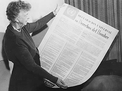 El Día Internacional de los Derechos Humanos y la Declaración Universal de los Derechos Humanos.
