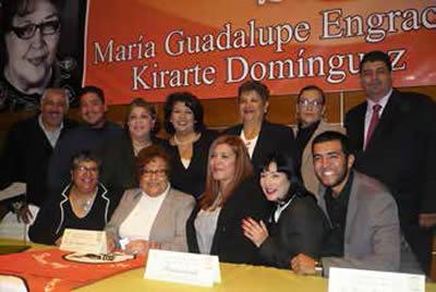 Un acto de justicia, reconocimiento a Guadalupe Kirarte
