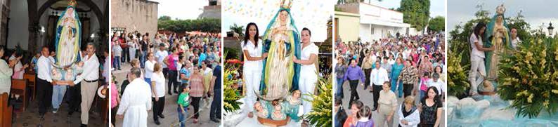 La máxima fiesta católica de Mocorito, ya no es lo que fue, pero sigue siendo