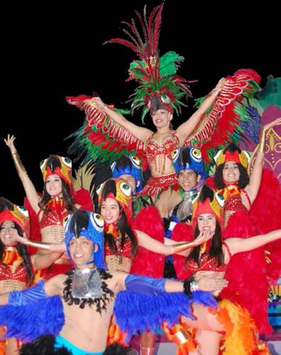 Una nueva fiesta de la alegría. Carnaval Mocorito, Sinaloa 2013