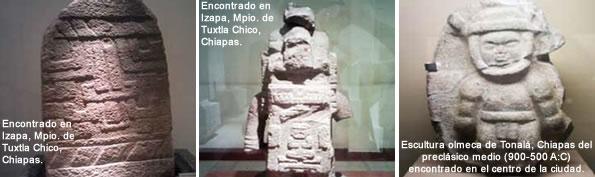 Los Olmecas En Chiapas