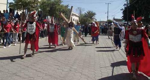 Semana Santa en el Municipio de Sinaloa