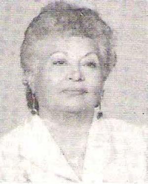 Educadora y escritora OFELIA CARRANZA DEL CASTILLO