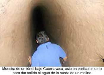 Túneles ocultos bajo Cuernavaca
