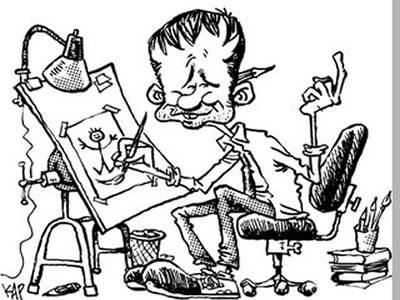 La Caricatura En México