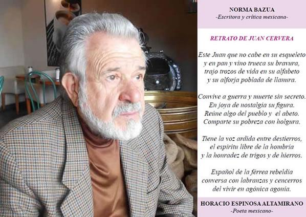 Juan Cervera Es Su Poesía