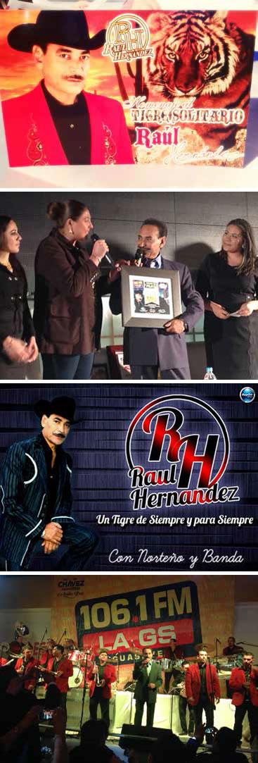 Raúl Hernández, el Tigre Solitario. Homenaje a su Trayectoria.