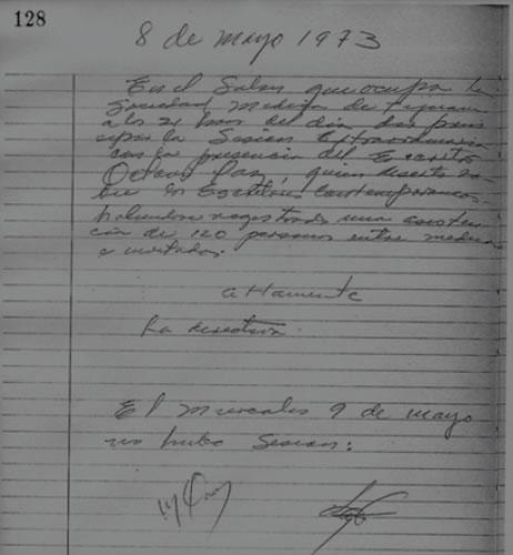 De cuando Octavio Paz estuvo en Tijuana ofreciendo una conferencia literaria
