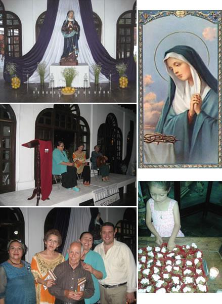 Altar de Dolores en el Museo de Guasave