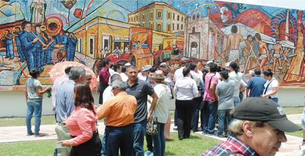 """Rumbo a la inauguración del mural """"Mocorito, Ateneo sinaloense"""""""