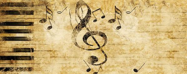 Aficiones musicales de figuras de la historia