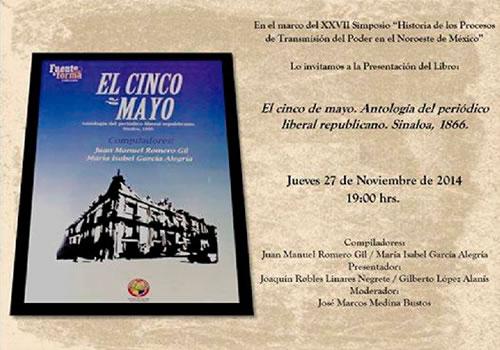 El Cinco de Mayo. Antología del periódico liberal republicano. Sinaloa 1866
