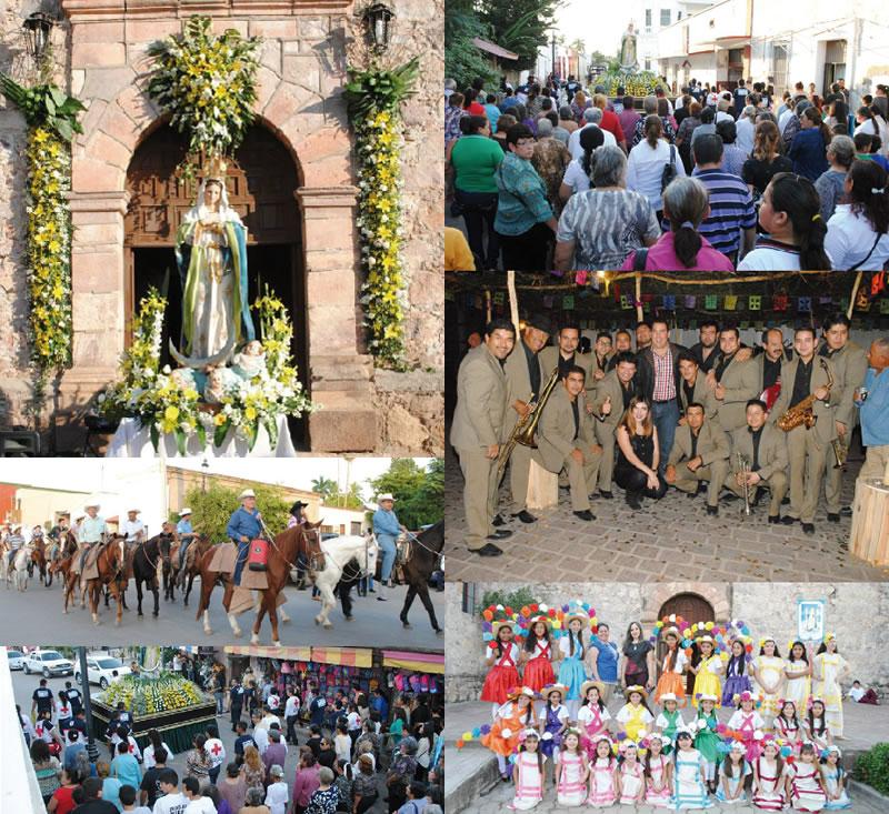 La Enramada y la fiesta de la Purísima, riqueza tradicional de mi pueblo