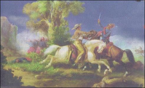 Carlos Saillé N. Un soldado de Napoleón en El Pueblito