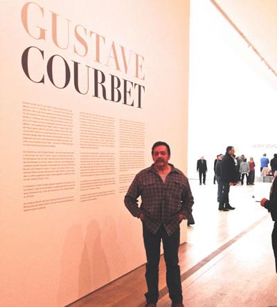 Gustave Courbet en la Fundación Beyeler (Basel Segunda Parte)