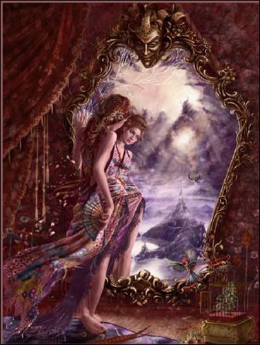 Espejos, simbolismos mágicos
