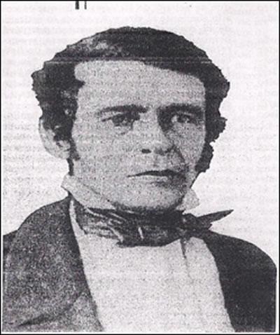 José Rojo Eseverri. (1797-1875). Candidato a gobernador, liberal. Su hijo Juan B Rojo político porfirista
