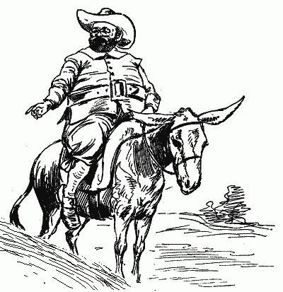 Personaje inmortal Sancho Panza, ¿escudero fiel o codicioso?