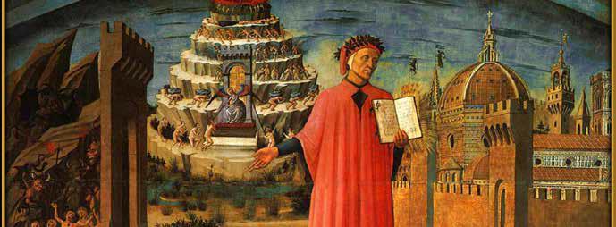 Celebración por el natalicio 750 de Dante de Alighieri