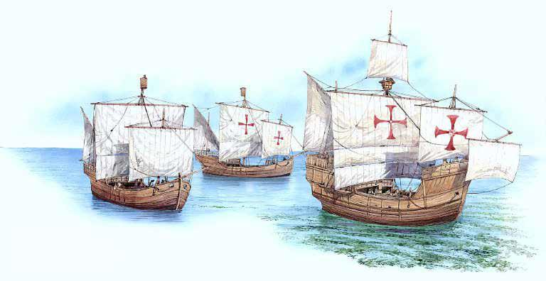"""Novus Mundus Colón iba a ser canonizado """"Ojos nunca vieron la mar tan alta, fea y echa espuma"""". COLON"""