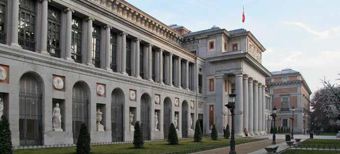 RECORRIDO POR MUSEOS EN MADRID, ESPAÑA.