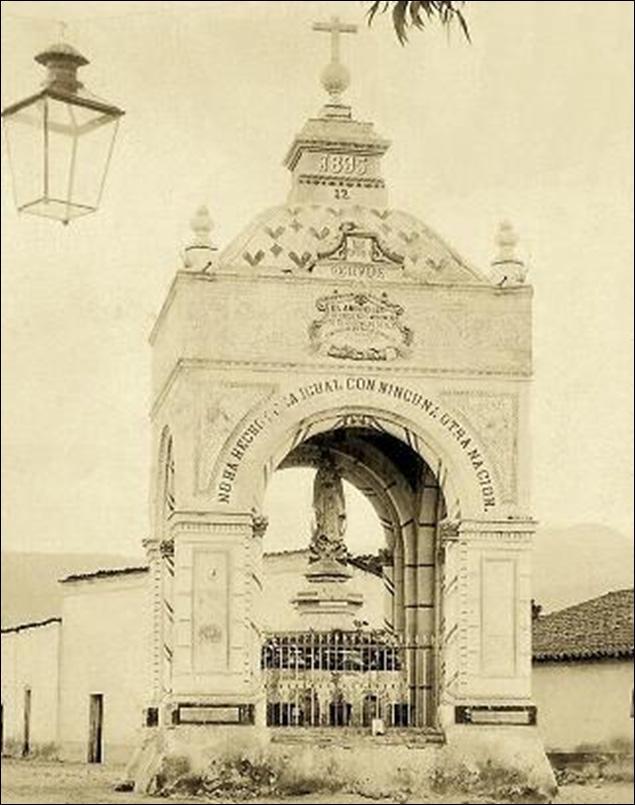 El Chapitel de Cuernavaca, sería erigido en honor a Hernán Cortés
