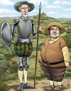 Don Quijote y Sancho Panza. Una aproximación psicológica